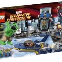 Lego 6868 Hulk Helicarrier Breakout Marvel Hawkeye Thor Loki Avengers