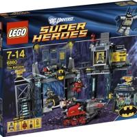 Lego 6860 The Batcave DC Batman Robin Bane Poison Ivy Batcycle Bruce