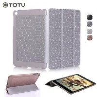 BEST PRICE!!! TOTU Dynamic Folding Stand Leather Case for iPad Mini