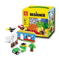 harga Brick Wange Designer 58231 Tokopedia.com