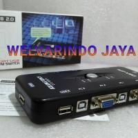 KVM switch 4 port usb