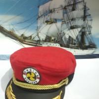 harga Topi Pelaut (Sailor Hat) Red Tokopedia.com