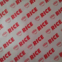 Grosir Kertas Nasi Logo 22x28 KFC Paper Warp Burger Kebab laminasi