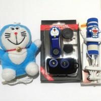 Jual Paket Selfie Special Doraemon ^ Tongsis , Lensa Fisheye , Powerbank Murah