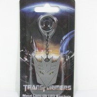 Transformers Metal Light-Up LED Keychain - Decepticon