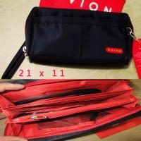 Dompet Handbag Pria Wanita Resleting Kulit IMport HP Android