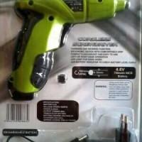 Cordless Screwdriver Prescott / Mesin Obeng & Bor Portable