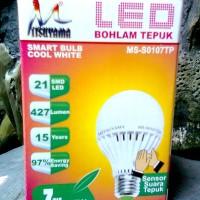 Lampu LED / Light / Bohlam Sensor Tepuk 7 watt Mitsuyama ...