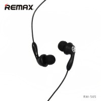 Remax Candy RM-505 Earphone with Microphone - Black