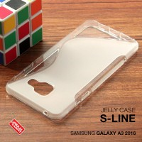 Samsung Galaxy A3 2016 Soft Jelly Gel Silicon Silikon Case Softcase