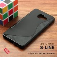 Samsung Galaxy A3 2016 Soft Jelly Gel Silicon Silikon Case Softcase