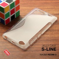 Xiaomi Redmi 3 Soft Jelly Gel Silicon Silikon TPU Case Softcase Clear