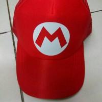 harga topi trucker #Mario Tokopedia.com