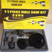 MATA BOR PELUBANG KAYU-HOLE SAW KIT 11PCS