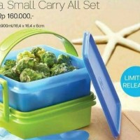 Tupperware Small Carry All Set Tempat Makan Rantang