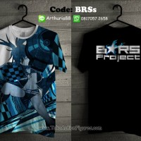 T-shirt fullprint Black Rock Shooter vr.2