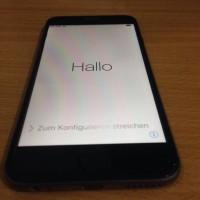 IPhone 6 Lock Icloud 16gb Grey Mulus 99,9% + Id Info (MURAH)