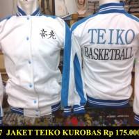 Jaket kuroko no basuke team Teiko jersey basket (spade anime)
