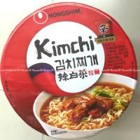 Nongshim Kimchi Bowl Mie Korea Rasa Ayam Kimci Mie Korea Nong Shim Aya