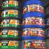 Gel Rambut Anak gambar Super Hero Master Kids Styling Gel