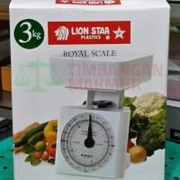 Timbangan Dapur Royal Scale Lion Star Kapasitas 3kg