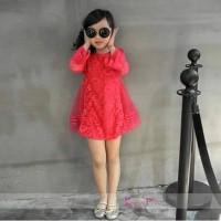 harga Dress Anak Korea Pink Tokopedia.com
