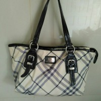 Tas Branded Burberry Blue Label Authentic Ori Second Preloved