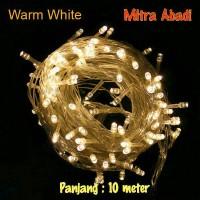 Lampu Natal Hias LED Warm White