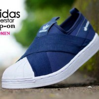 SEPATU SLIP ON ADIDAS SUPERSTAR WOMAN