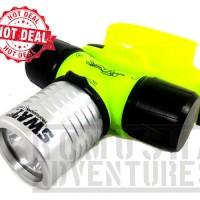 senter kepala selam / diving headlamp CREE XP-E Q5