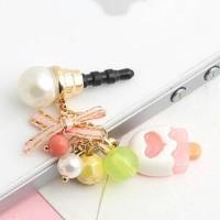 Korean Ice Cream pluggy / Dustplug / gantungan handphone Iphone 6
