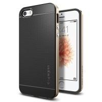 Spigen iPhone SE/5S/5 Case Neo Hybrid Champagne Gold 041CS20250