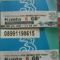 PERDANA TRI NETMAX 6,1 GB PAKET HEMAT
