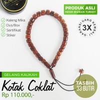 Gelang Kesehatan Kayu Kaukah/Kokka Asli + Sertifikat - KS