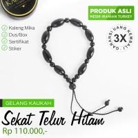 Jual Gelang Kesehatan Kayu Kaukah/Kokka Asli + Sertifikat - ST Hitam Murah