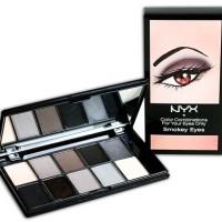 Nyx 10 color eyeshadow palette - Smokey Eyes