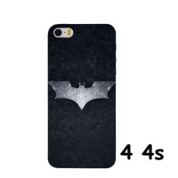 SILVER BATMAN HARD CASE COVER FOR IPHONE 4 4S