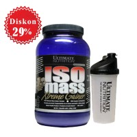 ULTIMATE NUTRITION ISO MASS XTREME GAINER 3.5LBS (ISOMASS)
