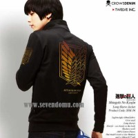 Jaket Shingeki No Kyojin Long Sleeve SNK 56
