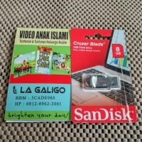 FLASHDISK + 250 VIDEO EDUKASI ANAK MUSLIM (8 GB)