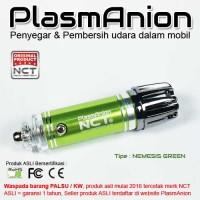 harga Car Air Purifier Plasmanion Nemesis Green Original garansi 1 tahun Tokopedia.com