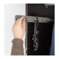 Ikea Komplement ~ Gantungan Tarik 58Cm Grey |Pull-out Multi-use Hanger