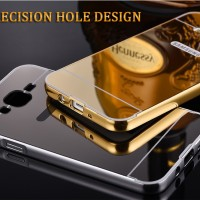 Bumper Mirror Case Samsung Galaxy J710 / J7 2016/Aluminium/Metal/Slide