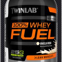 TWINLAB 100 % WHEY PROTEIN FUEL 5 lb | Pembentukan Massa Otot