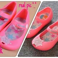 Jual Jelly Shoes Impor Frozen (anna & elsa) - sepatu anak perempuan Murah