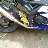 Knalpot Daytona GP Taper Slash Yamaha Xabre
