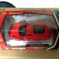 Burago Enzo Ferrari Shell (limited edition) 1:43