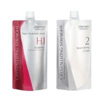 Pelurus Rambut Shiseido Crystallizing Straight (1 Set) / Rebonding