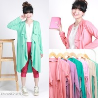 Rashifa Plain Casual Cardigan