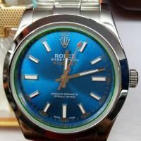 harga Jam Tangan Replika Rolex Milgauss Blue Dial Tokopedia.com